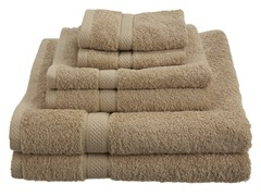Pinzon EgyptianCotton 725GSM 6Pc Towels-Driftwood