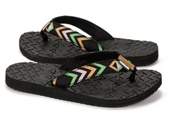 MUK LUKS® Women's Flip Flops, Rainbow