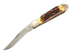 Bear and Son Stag Delrin 2-Blade Trapper