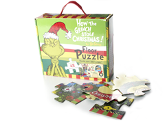 Grinch Stole Christmas Floor Puzzle