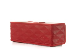 Bluetooth Stereo Speaker w/ Mic - Red