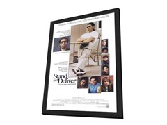 Stand and Deliver 27x40 Framed