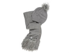 MUK LUKS® Scarf and Beanie Set