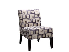 Sanibel Grey Blue Accent Chair