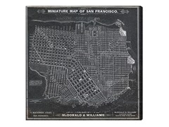 San Francisco Map 1879 (4 Sizes)