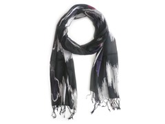 2-Pack Blurred Lines Print Scarves