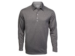 Trilogy Long-Sleeve Polo - Slate (S, M)