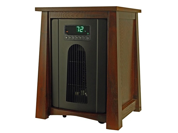 Life Pro 8 Element Deluxe Infrared Heater Wood