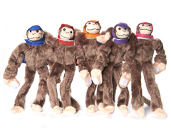 2012 Woot Monkey Games - Monkey 5-Pack