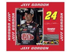 "Jeff Gordon 9"" x 11"""