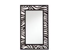 Animal Print Decorative Mirror - Zebra