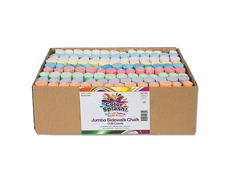 Box of Chalk,  1 Pack of 126