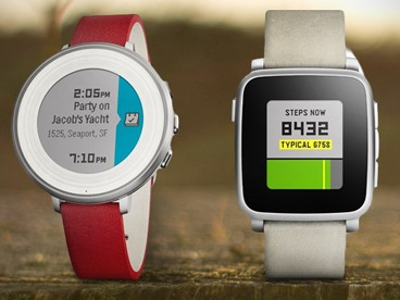 Pebble Time Smartwatch for iOS & Android