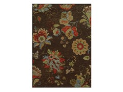Floral Brown Rug (5-Sizes)