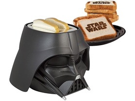 Pangea Brands Darth Vader Toaster - Black