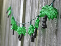 Palm Tree String Lights -10 Count