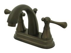 Lavatory Faucet, Bronze