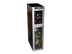 18-Bottle Dual-Zone Wine Fridge