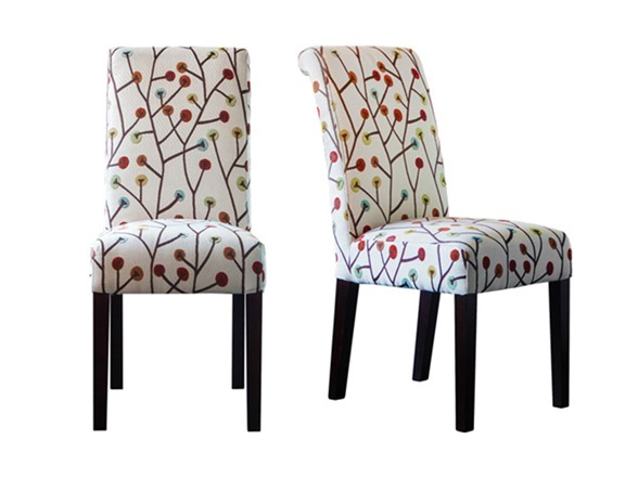 Whimsical Set Of 2 Chairs