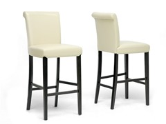 Bianca Cream Bar Stool- Set of 2