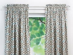 Magna Rod Pocket Curtain Panel - Cadet - 3 Lengths