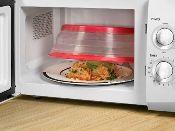 Microwave Collapsible Food Cover