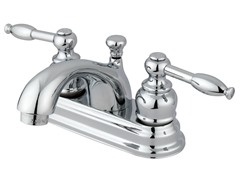 Knight Centerset Faucet, Polished Chrome