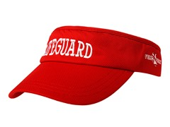 Lifeguard Cooling Visor - Red