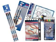 Los Angeles Dodgers MLB Team Notepad Set