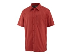 Men's Hamlin Short Sleeve Shirt - Magma Stripe