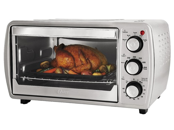 Oster 6 Slice Convection Toaster Oven Stainless