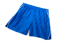 Solid Royal Shorts with Piping