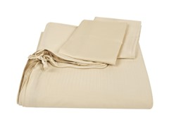 Homesource Clip 'n Zip Duvet Set-Hemp-2 Sizes