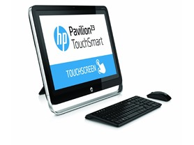 "HP 23"" Full-HD AMD A8 AIO Touch Desktop"