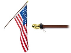 All American Flag Kit - Bronze