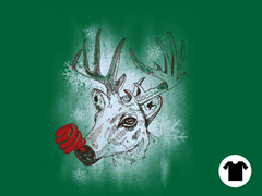 Green-nosed Reindeer Tee