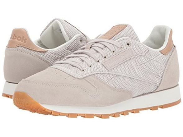 Reebok Men s CL Leather EBK Sneaker fa4ac1253