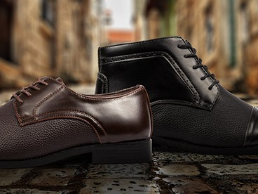 Gino Pheroni and Royal Men's Dress Shoes