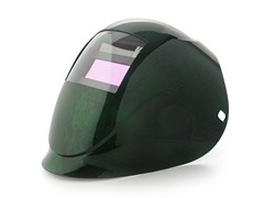 Python Green Fusion with 1000F Filter Welding Helmet