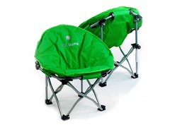 Lucky Bum Kids Moon Camping Chair, Green