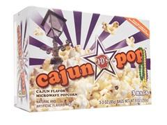 J&D's Foods CajunPOP Microwave Popcorn
