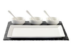 Luigi Bormioli 8-Piece Appetizer Set