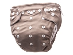 Trend Lab Adjustable Cloth Diaper -Taupe