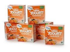 Orange Cream Greek Yogurt - 24 Pieces