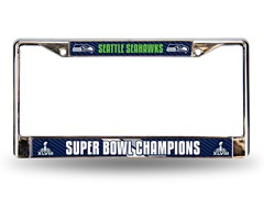 Super Bowl Champions Licence Plate Frame