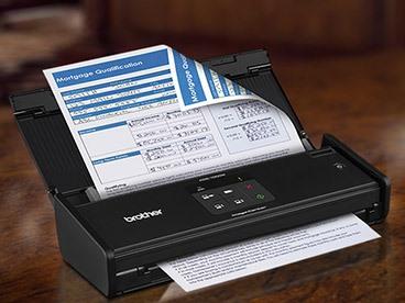 Brother Compact Color Desktop Scanner