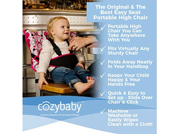 Stupendous Cozy Cover Easy Seat Portable High Chair Ocoug Best Dining Table And Chair Ideas Images Ocougorg