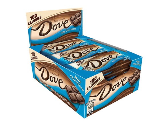 18-Count Dove 100 Calories Milk Chocolate Candy Bars