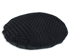Vortex Black Simply Soft Pet Bed