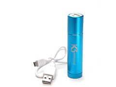 Power Tube 2200 USB Charger - Blue
